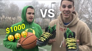 CRAZY GAME of H.O.R.S.E. for $1000 SHOES
