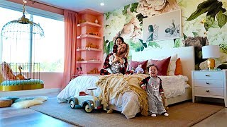 REVEALING ELLE AND ALAÏAS NEW BEDROOM!!! **EXTREME ROOM MAKEOVER**