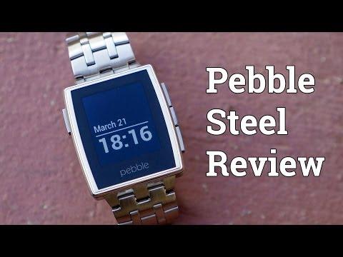 Pebble Steel Review!