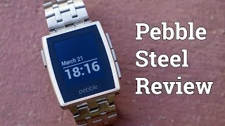 Pebble Steel Review!