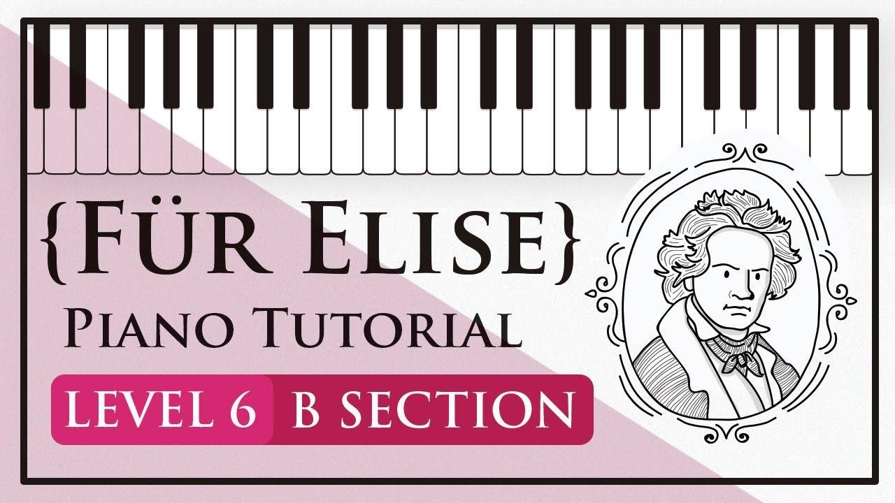 Für Elise – Level 6 (B section)