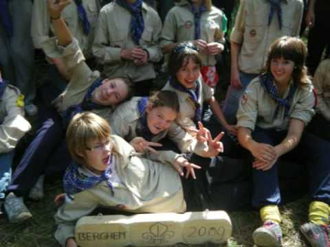 Scouts Overloon op Zomerkamp Berghem 2009