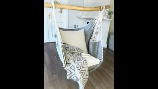 How To Hang Hammock Chair.