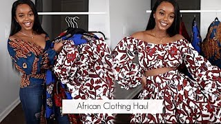 SUPER CUTE IN TREND AFRICAN PRINT OUTFITS TRY ON HAUL 2019
