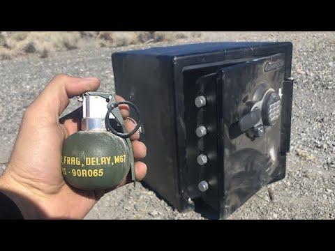 把遊戲的手榴彈放進保險箱會怎麼樣