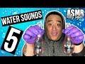 [ASMR] Water Sounds 5 (w/Bubbles)   MattyTingles