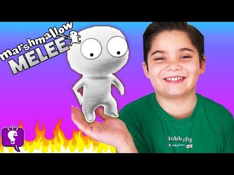 Marshmallow MELEE Challenge with HobbyKids