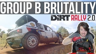 The Group B Cars In DiRT Rally 2.0 Are Bloody Brutal