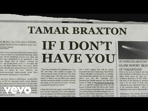If I Don't Have You (Lyric Video)