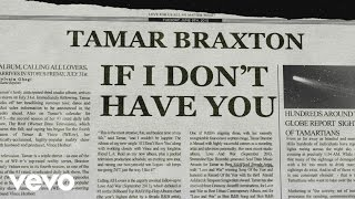 Tamar Braxton - If I Don't Have You (Lyric Video)