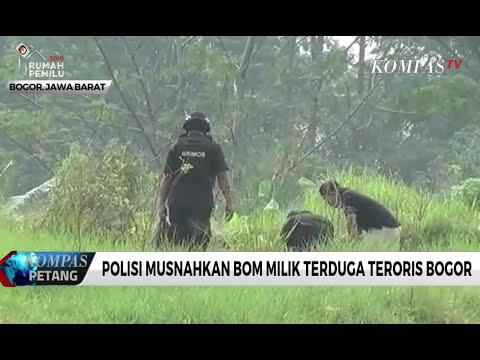Polisi Musnahkan Bom Milik Terduga Teroris Bogor