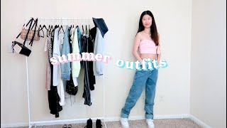 CASUAL SUMMER OUTFITS 🌻 | Summer Fashion Lookbook 2020