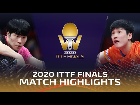 Jang Woojin vs Tomokazu Harimoto | 2020 ITTF Finals (R16)