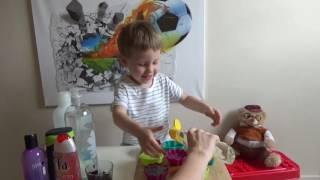 DIY! Мыльные гелевые желе своими руками! Как занять ребёнка. Детское творчество. Handmade