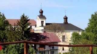 preview picture of video 'Podlasie (66) Drohiczyn (1) Góra Zamkowa - obelisk 10-lecia niepodleglości + Bug 10.05.2012'