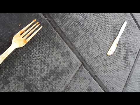 Cubiertos de mesa de comedor