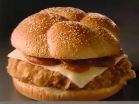 80's Ads: Wendy's Chicken Parmesan Sandwich 1989