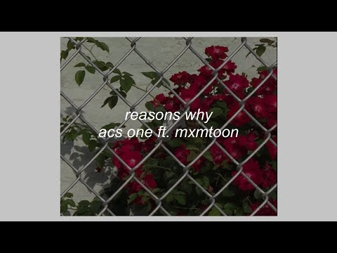 REASONS WHY // ACS ONE FT. MXMTOON (LYRICS)