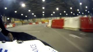 preview picture of video 'TELETHON 2013 Vierzon - Tour de piste en kart électrique'