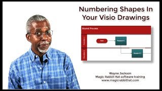 Numbering Shapes In Your Microsoft Visio Drawings