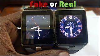 DZ09 Smartwatch Original vs Fake