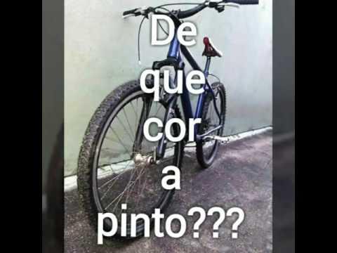 De que cor pinto a bike???