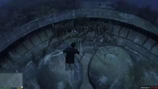 GTA 5 - Đã tìm thấy vị trí UFO dưới đáy biển :)