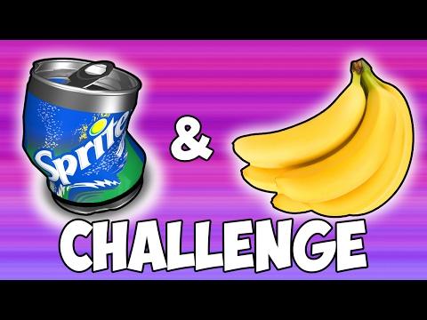 SPRITE & BANANA CHALLENGE | SUCCESS!