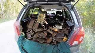 Пол тонны металла и бонус латунь. Металло Коп
