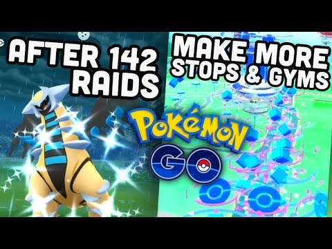 AFTER 142 RAIDS THIS HAPPENED IN POKEMON GO | Make new Pokéstops & Gyms
