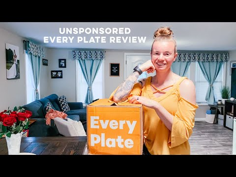 Unsponsored Every Plate Review || This Faithful Home
