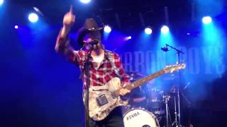 Bourbon boys live @ gröna lund