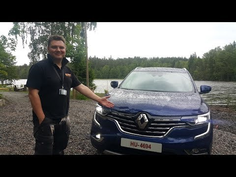 Renault  Koleos Паркетник класса J - тест-драйв 3