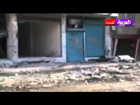 آثار الدمار في مدينة دوما في ريف دمشق