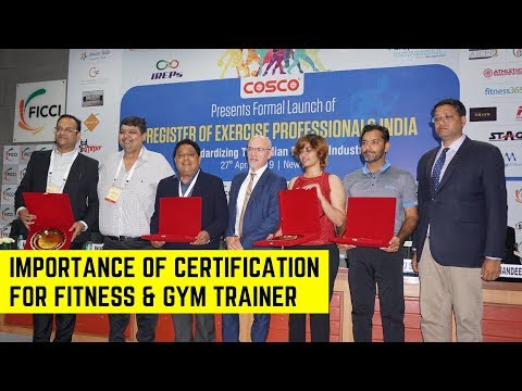 Importance Of Certification For Fitness & Gym Trainer - YouTube