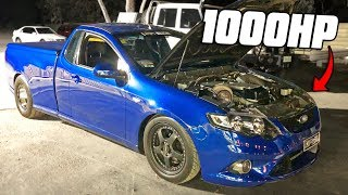 SAVAGE street racing in Australia! 1000hp Barra's, Commodores, UTES!