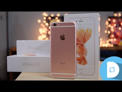Rose Gold iPhone 6s Unboxing!