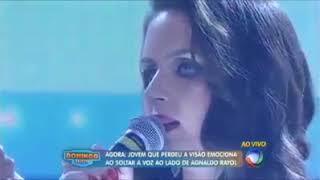 Tormento D'Amore / Giovanna Maira e Agnaldo Rayol / Programa Domingo Show - Rede Record