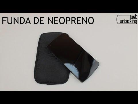 Funda de Neopreno para Nexus 5 y otros smartphones