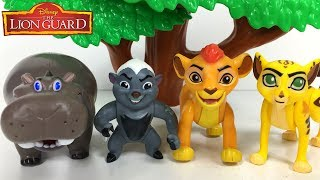 LION GUARD KION AND JANJA PLAYING HIDE AND SEEK IN TRAINING LAIR WITH BESHTE ONU & SIMBA - STORY