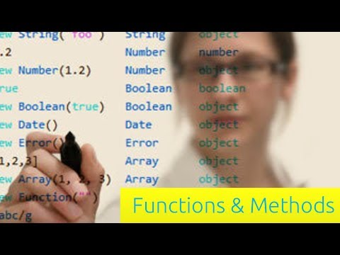 Functions & Methods – JavaScript Tutorial for Beginners