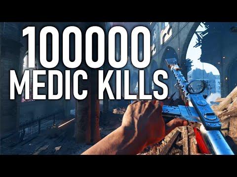 What 100000 Medic Kills Experience Looks Like on Battlefield 5.....