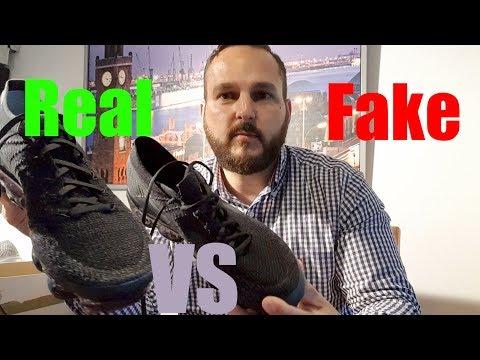 Real vs Fake Nike Air Vapormax All Black