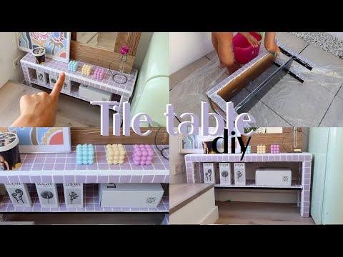 TILE TABLE DIY - ¡Crea el mueble mas trendy internet con uno de Ikea!