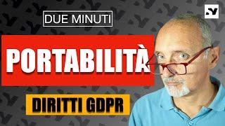 Portabilità dei dati [GDPR]
