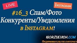 #16_3 Спам в инстаграм, что делать с конкурентами, уведомления в инстаграм, отметки на фото, фото