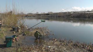 Рыбалка на фидер в апреле. Открытие сезона фидерной ловли 2019