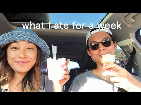 WHAT I ATE FOR A WEEK 10 | dahyeshka