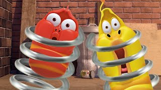 LARVA - SALTO A LA ACCIÓN | Dibujos animados para niños | Oficial LARVA | WildBrain