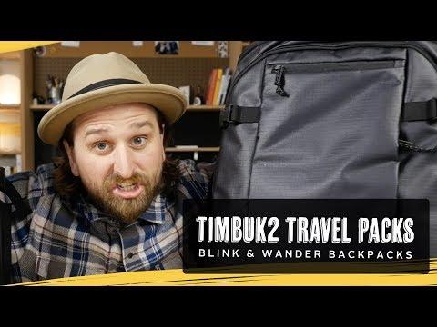Timbuk2 Blink & Wander Travel Packs